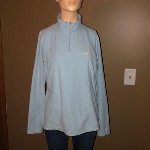 Women's the Northface three-quarter zip sweatshirt